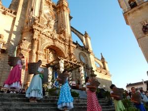 2014年のラ・ピサ・デ・ラ・ウバの様子 とても華やかなものでした。