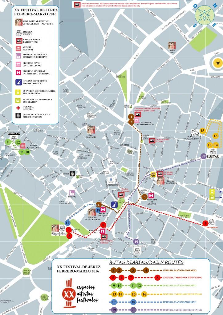 Map Flamenco Festival 2016